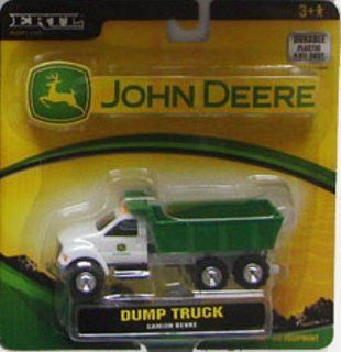 Ertl John Deere 164 Green and White Dump Truck with Working Dump Bed Toys & Games