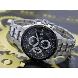 Casio #EF556D 1AV Men's Edifice Stainless Steel Sports Analog Chronograph Watch Watches