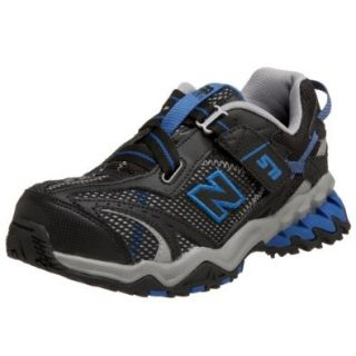 New Balance KV571BBG Little Kid/Big Kid Trail Runner, Black, 3.5 M US Big Kid Fashion Sneakers Shoes