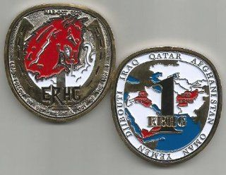 1st Expeditionary Red Horse Group 557 809 ERHS Iraq Afghanistan Challenge Coin