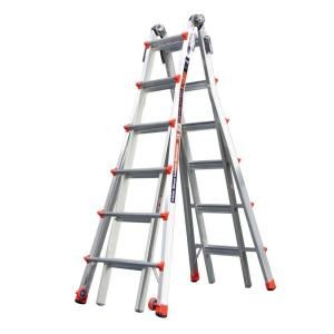 Little Giant Ladder Revolution 26 ft. Aluminum Multi Position Ladder with 300 lb. Load Capacity Type IA Duty Rating 12026