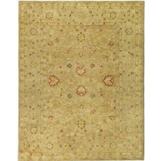 Safavieh AT822B 8 Antiquities Collection Handmade Light Brown and Beige Hand Spun Wool Area Rug, 7 Feet 6 Inch by 9 Feet 6 Inch