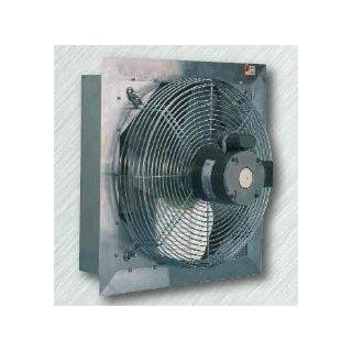 "CANARM  AX10 3 10 Inch Diameter Shutter Mounted Direct Drive Two Speed Exhaust Fan  690/580 CFM At 0"" Static  115 Volt 1 Phase 0.5 Amps   Built In Household Ventilation Fans"