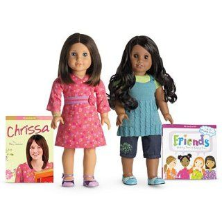 American Girl Chrissa & Sonali Friend Collection doll set Toys & Games