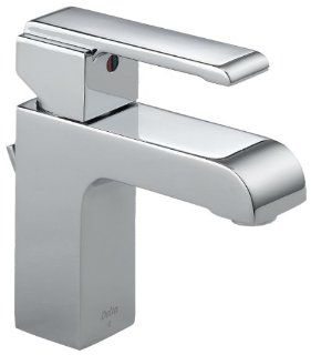 Delta 586LF MPU Arzo Single Handle Centerset Lavatory Faucet, Chrome   Touch On Bathroom Sink Faucets