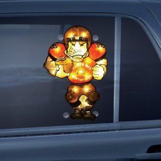 "9"" NFL Tampa Bay Buccaneers Lighted Football Player Car Window Decoration   Sports Fan Decals"