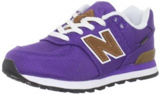 New Balance KL574 Backpack Pre Lace Up Sneaker (Little Kid), Purple, 12 M US Little Kid Fashion Sneakers Shoes
