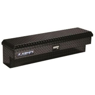 Lund 48 in. Side Bin Truck Tool Box with Full Or Mid Size, Full Lid, Aluminum, Black LAL480BK