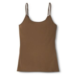 JKY By Jockey Womens Nylon Stretch Cami   Chestnut XL