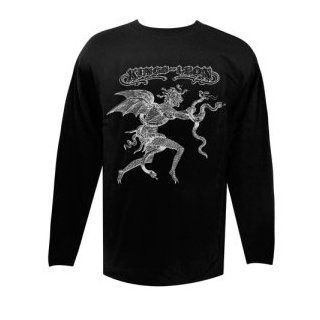 Kings of Leon Long Sleeve Black Top Shirt Men Small Clothing