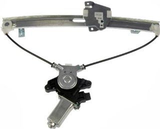 Dorman 748 584 Mitsubishi Galant Rear Driver Side Window Regulator with Motor Automotive