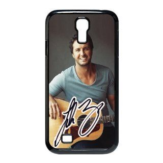 Custom Luke Bryan Cover Case for Samsung Galaxy S4 I9500 S4 2180 Cell Phones & Accessories