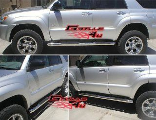 03 09 Toyota 4Runner S/S Side Step Nerf Bars Running Boards Automotive