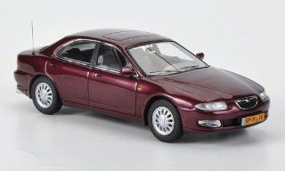 Mazda Xedos 6, met. dark red , 1992, Model Car, Ready made, Neo 143 Neo Toys & Games