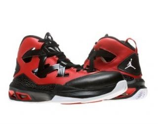 Nike Air Jordan Melo M9 (GS) Boys Basketball Shoes 552655 601 Gym Red 7 M US Shoes