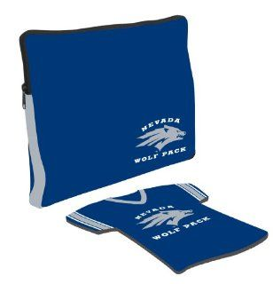 Nevada Wolf Pack Laptop Jersey and Mouse Pad Set  Sports Fan Mouse Pads  Sports & Outdoors