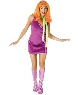 NEW Ladies' Adult Standard Size Licensed Scooby Doo Deluxe Daphne Purple Costume Clothing