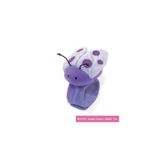 Purple   Ladybug Wrist Rattle by North American Bear Co. (8270 PR)  Baby Rattles  Baby