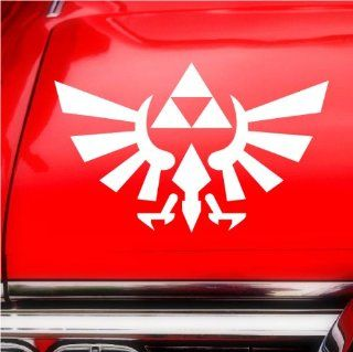 Legend of Zelda Triforce iPad Car Notebook Decal Sticker 8""