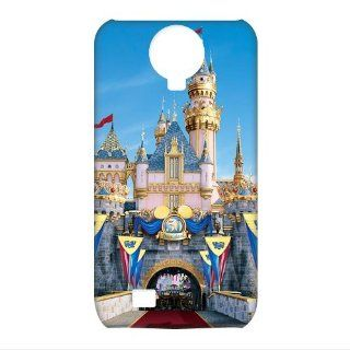 Best FashionCaseOutlet Disney Disneyland Castle 3D Cases Accessories for Samsung Galaxy S4 I9500 Cell Phones & Accessories