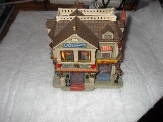 Coventry Cove Crescent City Dance Hall Lighted Christmas Village Building   Holiday Figurines