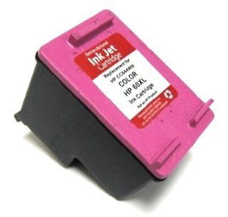 HouseOfToners HP 60Xl Color Ink Cartridges CC644WN   Remanufactured in USA for D2530 printer (Alternative Replacement) Electronics