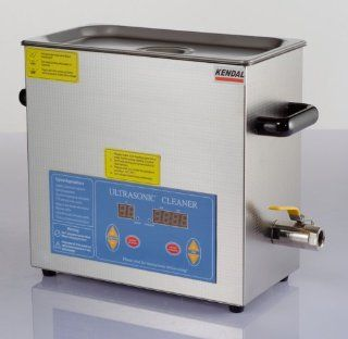 Kendal Commercial Grade Kendal 6 Liters 380 Watts HEATED ULTRASONIC CLEANER HB36   Jewelry Cleaning And Care Products