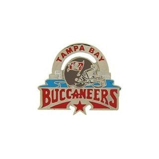 "Metal Lapel Pin   National Football League Team Logo Pins   Official NFL Team Star Pins   Tampa Bay Buccaneers NFL Star (1 1/4"") Clothing"