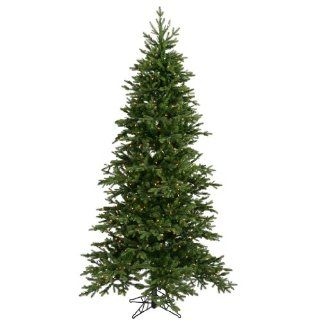 7.5 ft. Artificial Christmas Tree   High Definition PE/PVC Needles   Balsam Fir   Prelit with Clear Mini Christmas Lights   Vickerman A896176