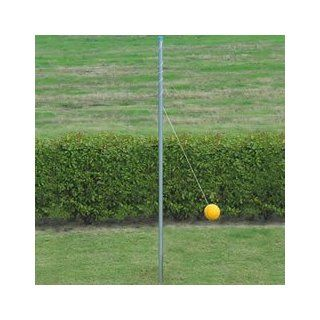 Heavy Duty Galvanized Outdoor Tetherball Pole with Ball  Tetherball Equipment  Sports & Outdoors