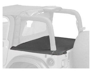 Bestop 90022 35 Black Diamond Duster Deck Cover for 03 06 Wrangler with Factory Hardtop removed Automotive