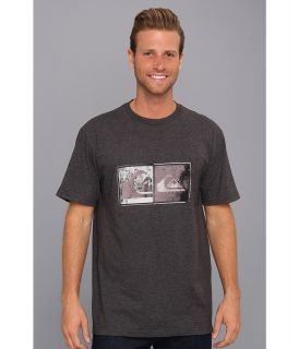 Quiksilver After Hours Tee Mens T Shirt (Gray)