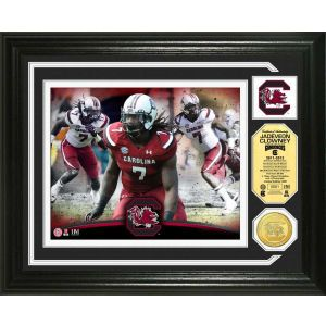South Carolina Gamecocks Jadeveon Clowney Highland Mint Photo Mint Coin Bronze