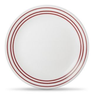 Corelle Lunch Plate Set of 6   Red