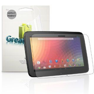 GreatShield Ultra Anti Glare (Matte) Clear Screen Protector Film for Google Nexus 10 Tablet (3 Pack) Computers & Accessories