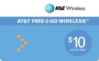 AT&T Prepaid $10 Refill Card Cell Phones & Accessories