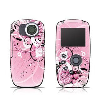 Her Abstraction Design Protective Decal Skin Sticker (High Gloss Coating) for Kodak PlaySport Zx5 HD Waterproof Pocket Video Camera Camcorder Cell Phones & Accessories