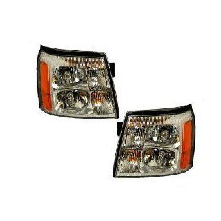 Cadillac Escalade Halogen Headlights OE Style Replacement Headlamps Driver/Pa Automotive