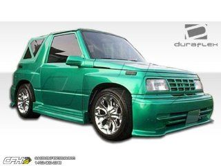 1989 1995 Geo Tracker Suzuki Sidekick 2DR Duraflex Stalker Body Kit   4 Piece   Includes Stalker Front Bumper Cover (102231) Stalker Rear Bumper Cover (102233) Stalker Side Skirts Rocker Panels (102232) Automotive