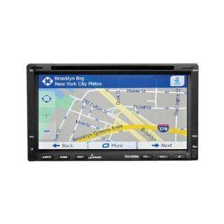 Lanzar Snv695n 6.95 Double Din Dvd/Mp4//Cd/Bluetooth/Gps  Vehicle Electronics
