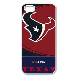 Creative NFL Houston Texans Team Logo iphone 5 case Best designer cover show 1z84 Cell Phones & Accessories
