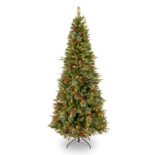 National Tree Co. Colonial 7.5 Green Slim Artificial Christmas Tree