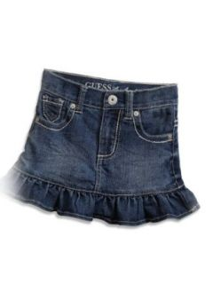 GUESS Kids Girls Little Girl Denim Miniskirt Clothing