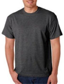 Gildan Adult Gildan Dryblendt Shirt, Dark Heather (50/50), 2Xl