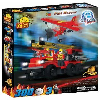 COBI Action Town Fire Rescue, 300 Piece Set Toys & Games