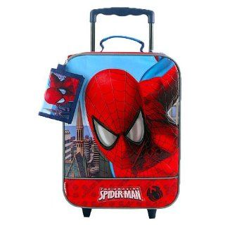 The Amazing Spider Man Rolling Luggage with FREE wallet Toys & Games