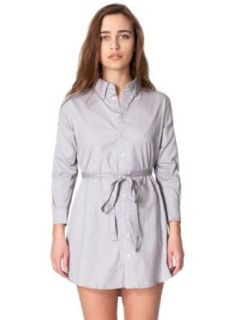 American Apparel Oxford Shirt Dress   Oxford Grey / XS/S Shirtdress Women