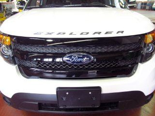 2013 Ford Explorer Sport Front Grille Assembly Black w/ Emblem OEM NEW Genuine Automotive