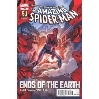 "Amazing Spider man #686 ""'Ends of the Earth' Inferno Earth Rages"" slott Books"
