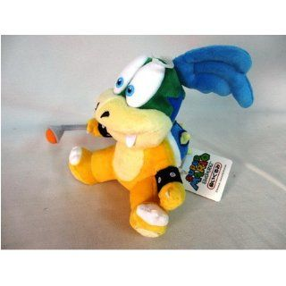 "Sanei Super Mario Plush Series Larry Koopa Plush Doll, 7"" Toys & Games"